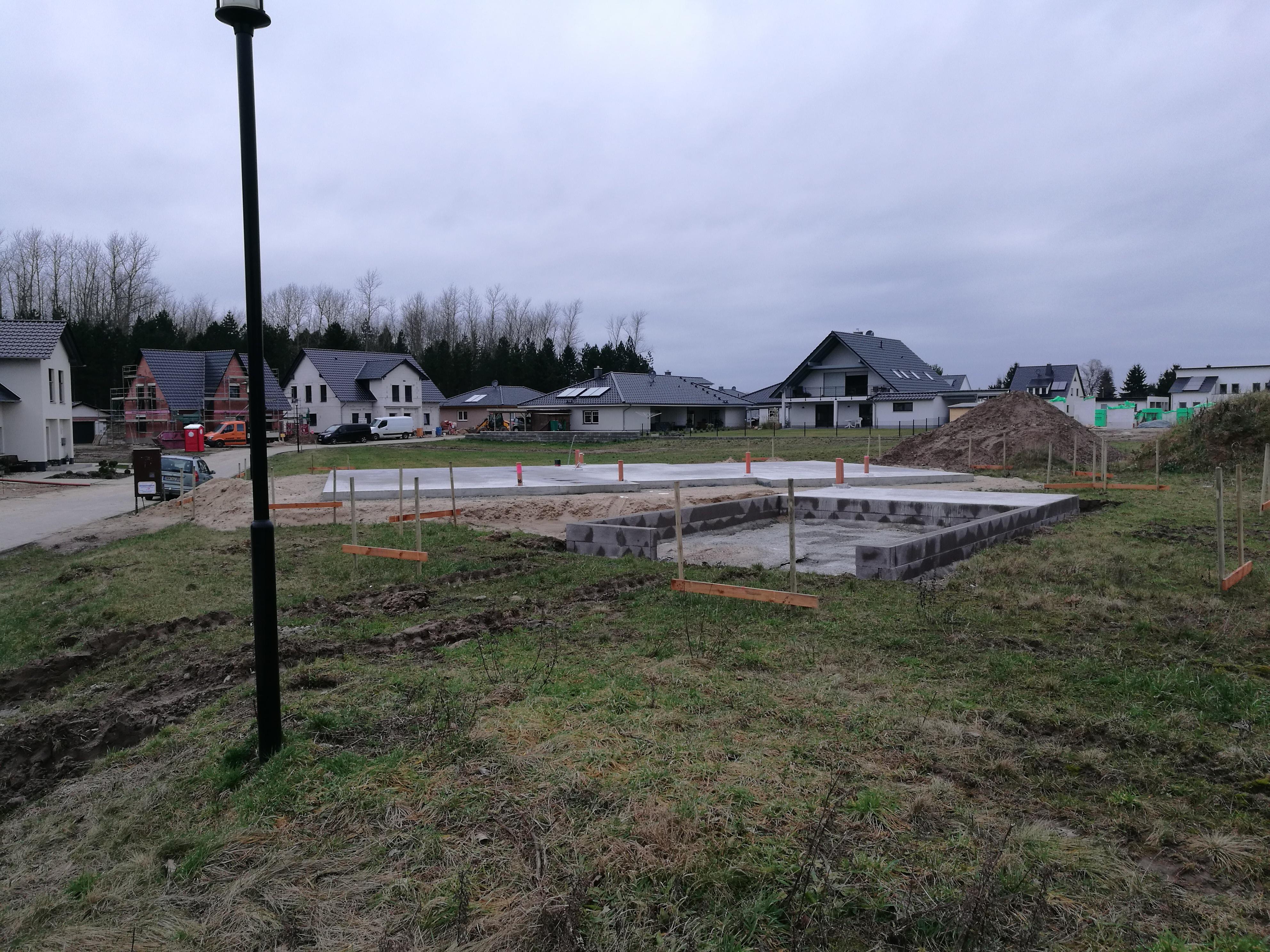 Erstes Latvia-House wird in Salzwedel gebaut
