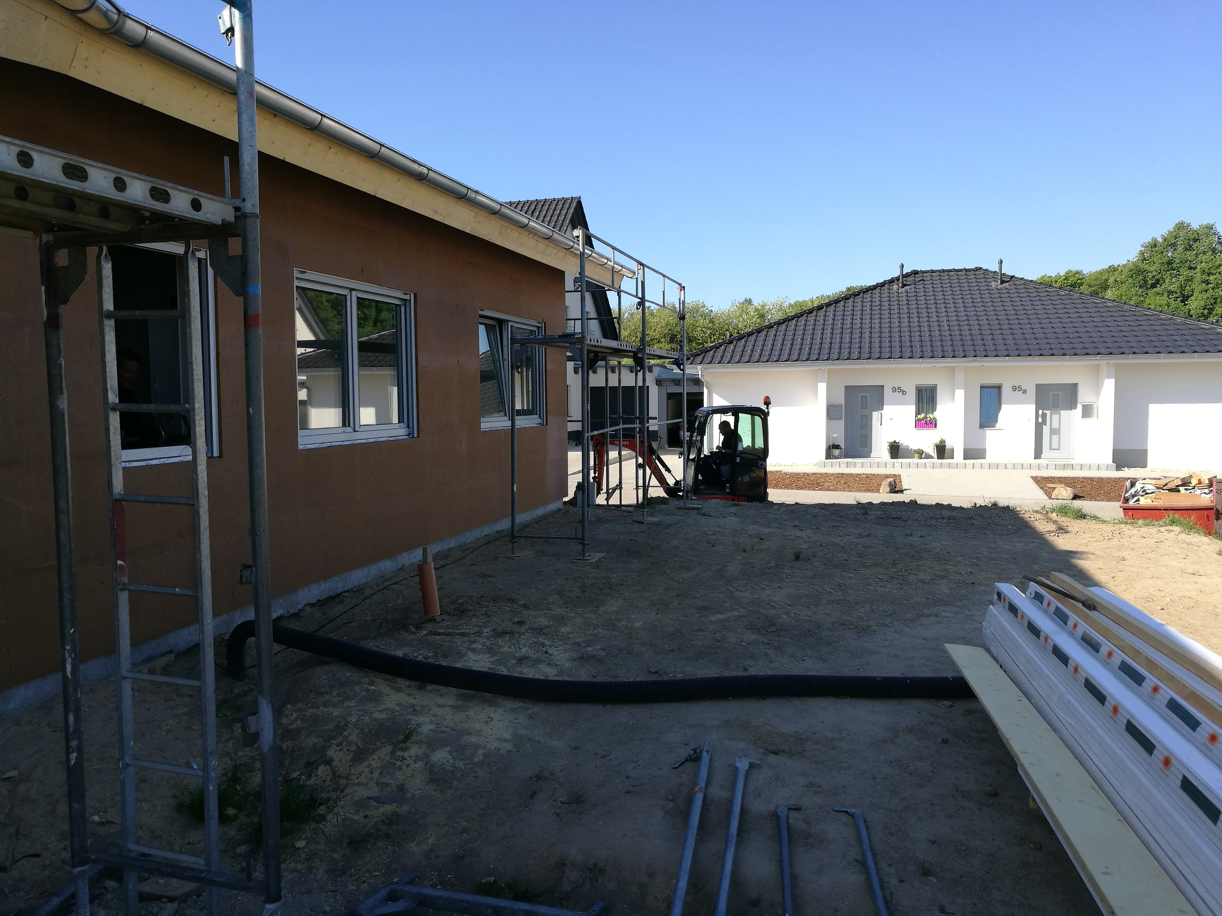 Montage erstes Latvia House Tag 12-22